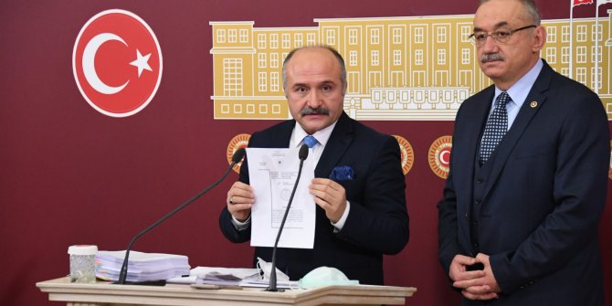 Varlık Fonu'ndaki gizli gerçeği İYİ Partili Erhan Usta ortaya çıkardı