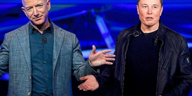 Kavga büyüyor Elon Musk ve Jeff Bezos uzayı paylaşamadı