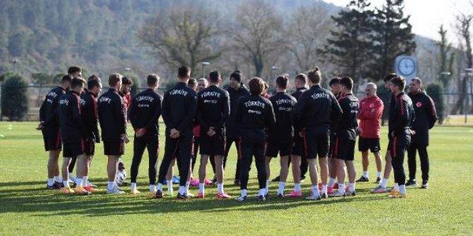 Ümit Milli Futbol Takımı'nın hazırlık kampı sona erdi
