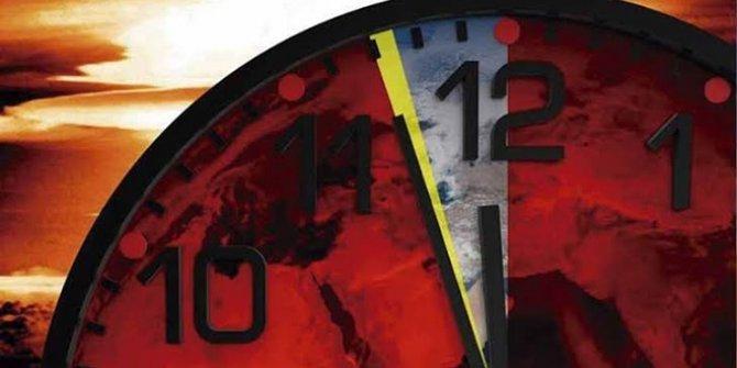 Eyvah bilim insanlarının kıyamet saati alarm veriyor. Her şey gece yarısına 100 saniye kala olacak
