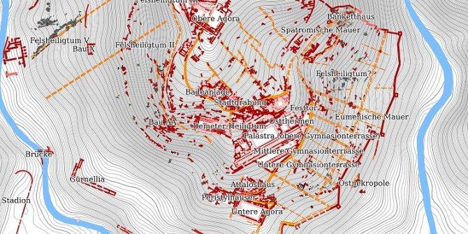 Bergama Antik Kenti artık dijital dünyada