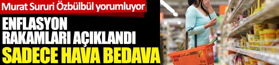Enflasyon rakamları açıklandı.  Murat Sururi Özbülbül Yeniçağ TV canlı yayınında yorumluyor