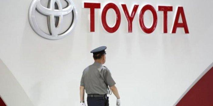 Toyota Japonya'da üretimini durdurdu!