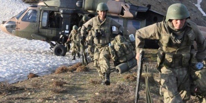 Tendürek'te operasyon: 5 terörist öldürüldü