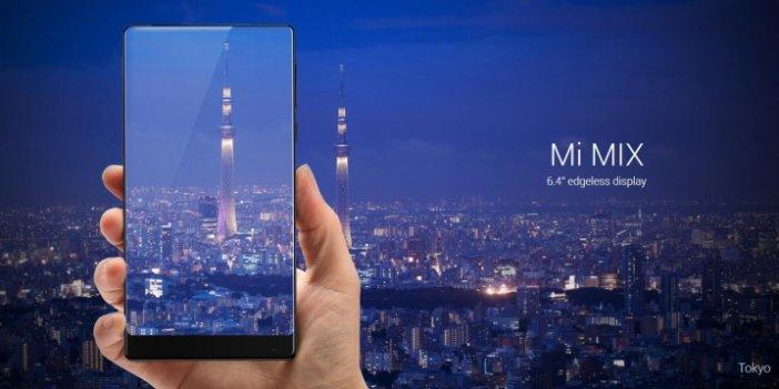 Çerçevesiz Xiaomi Mi Mix