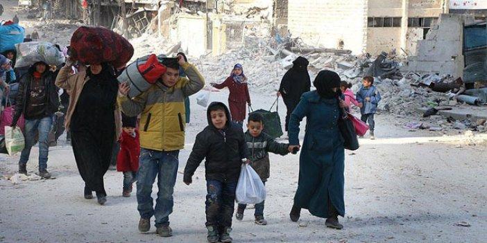 Halep'te tahliye konvoyu yeniden yola çıktı