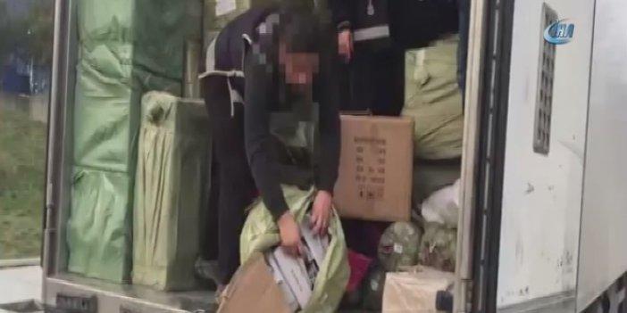 6 milyon TL'lik kaçakçılık operasyonu