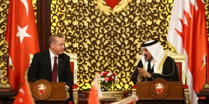 Bahreyn ziyaretinde onlar da vardı!