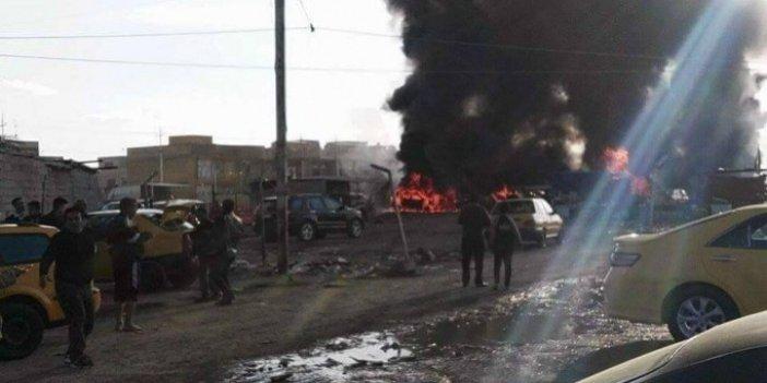Bomba yüklü tanker patladı: 25 ölü