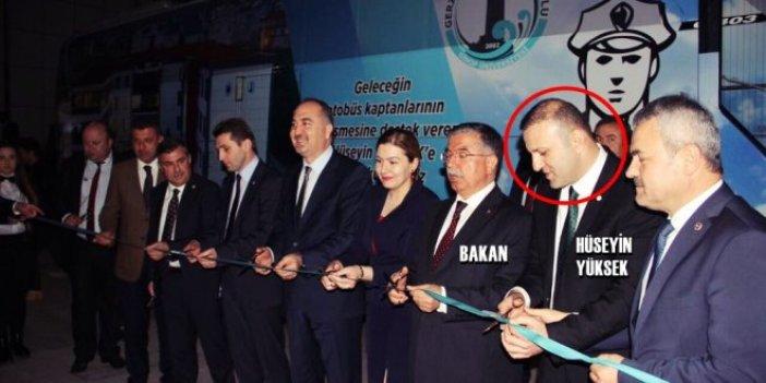Bakan Sinop'ta otobüs açtı