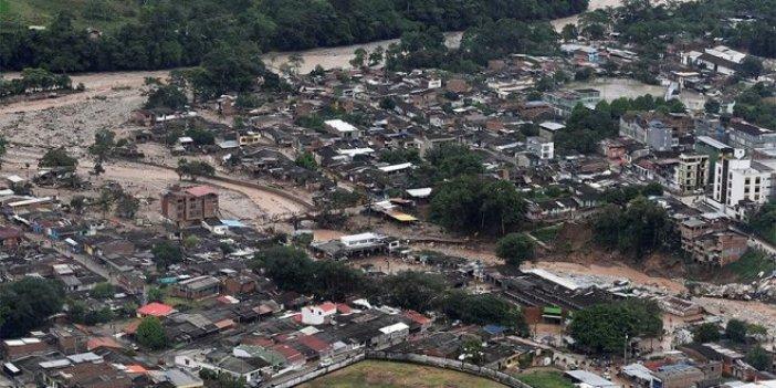 Kolombiya'da sel faciası