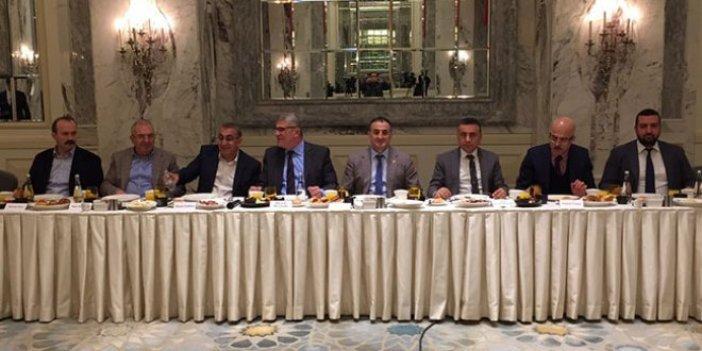Ülkü Ocakları Genel Başkanları Trabzon'da