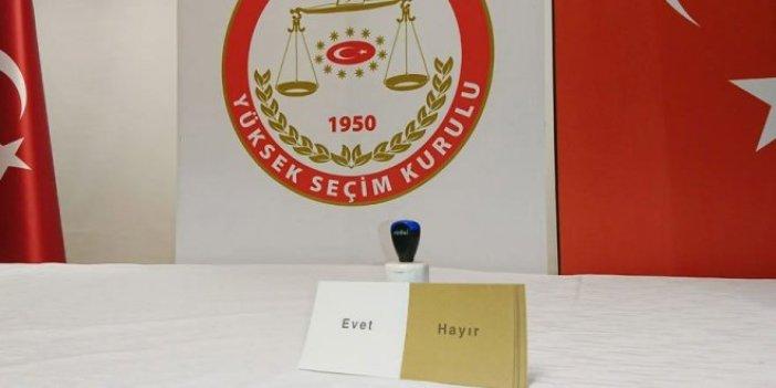 YSK Başkanı: Oy pusulaları sahte değil, şüphe yok!