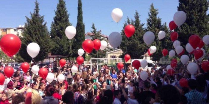 23 Nisan kutlamasında balon şoku