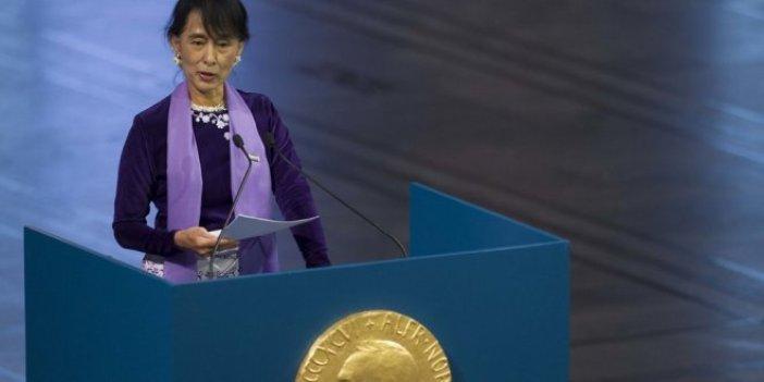 Nobel Komitesinden Suu Çii açıklaması