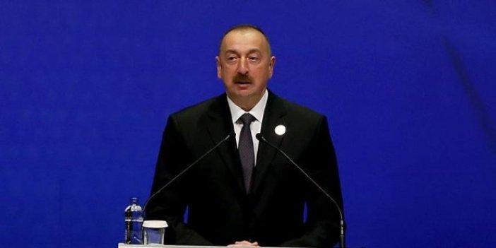 Aliyev'den Arakan çağrısı