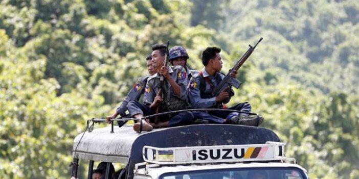 Myanmar ateşkesi reddetti