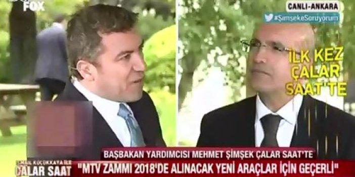 Başbakan Yardımcısı Mehmet Şimşek'ten MTV açıklaması!