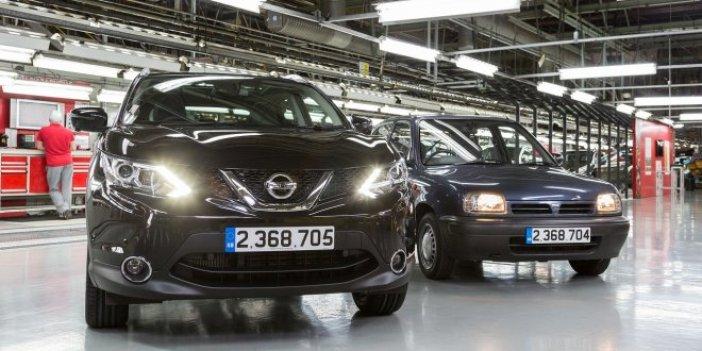 Nissan üretimi durdurdu