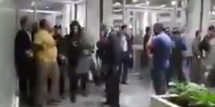Silahlar patladı Peşmerge parlamentosu karıştı