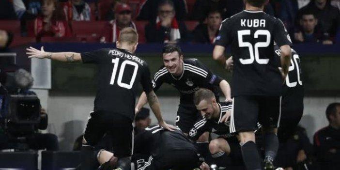 Karabağ, Atletico Madrid'e geçit vermedi