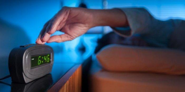 Yaz saati uygulaması uyku sorunlarına neden olacak
