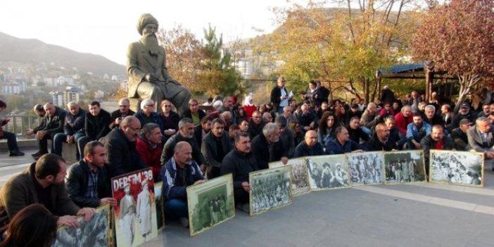 CHP Tunceli'de Seyit Rıza'yı andı