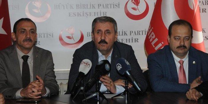 Mustafa Destici'den NATO tepkisi
