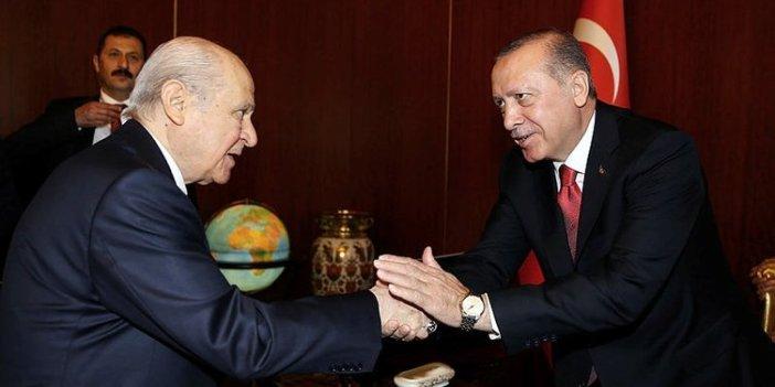 Sürpriz Bahçeli-Erdoğan görüşmesi