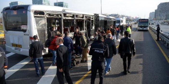 2 metrobüs çarpıştı: Yaralılar var