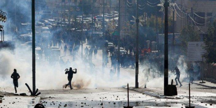 Kudüs krizi tırmanıyor: Batı Şeria'da çatışma