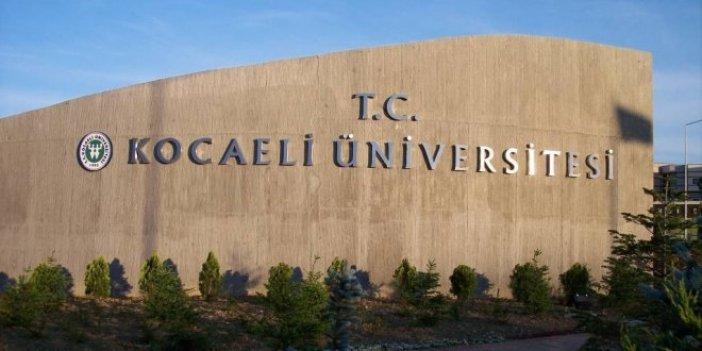Kocaeli Üniversitesi kapatılan bölüm için öğrencilerden harç istedi