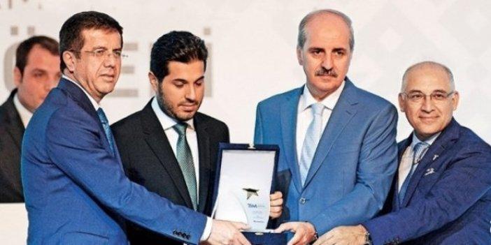 Bakan'dan 'Zarrab'a ödül' açıklaması