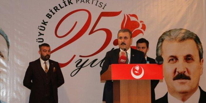 """Mustafa Destici: """"Mevcut seçim yasası değişmeli"""""""