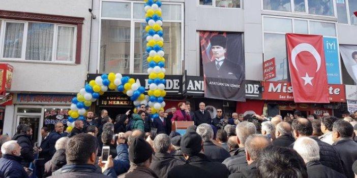 İYİ Parti Yozgat İl Başkanlığı binası açıldı