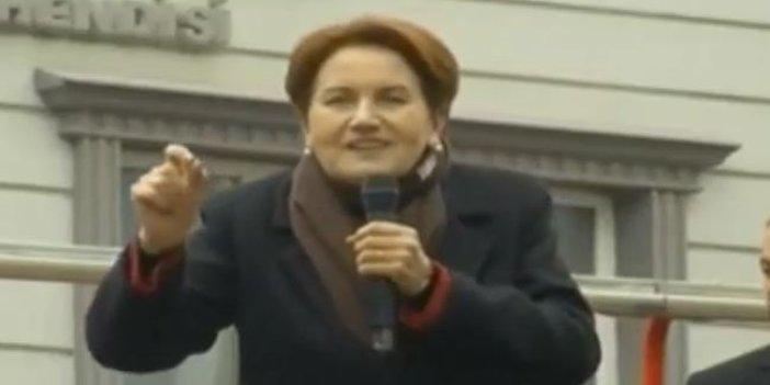 Meral Akşener'den Erdoğan'a 'Davutoğlu' göndermesi