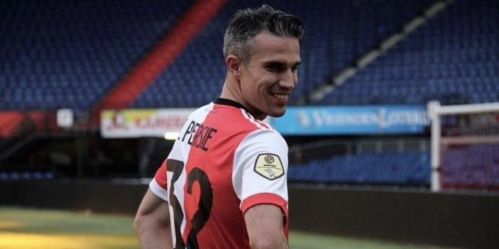 Hollanda'da Van Persie coşkusu