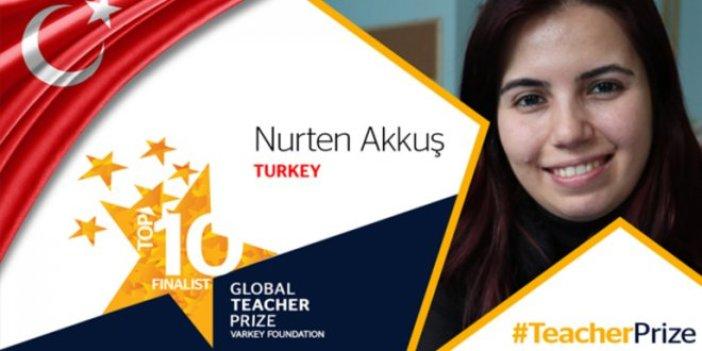 Nurten Öğretmen Eğitim Nobeli'nde ilk 10'a kaldı