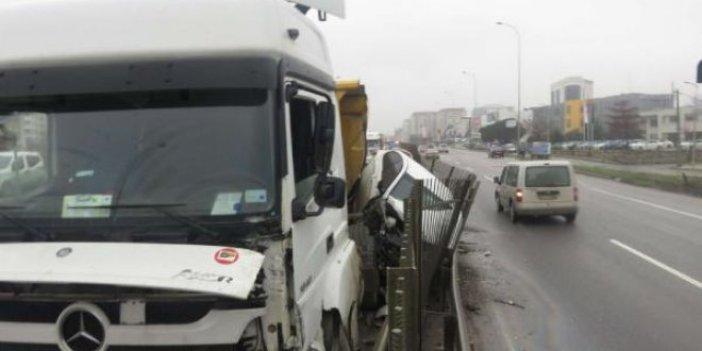 Çekmeköy'de hafriyat kamyonu terörü