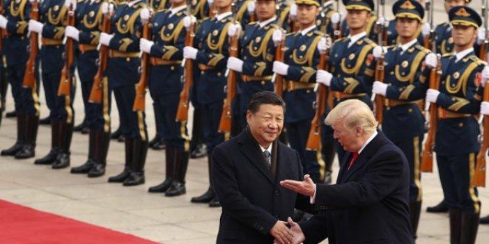 Trump'ın Pekin ziyaretinde kavga çıkmış