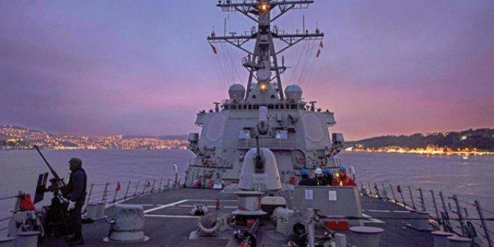 ABD donanmasından Boğaz paylaşımı
