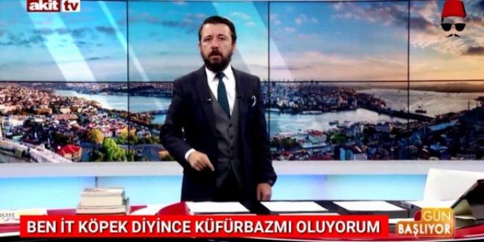 Skandal sözlerin sahibi Akit TV sunucusu istifa etti