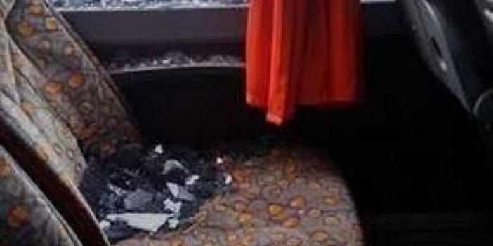 Diyarbakır'da takım otobüsüne saldırı