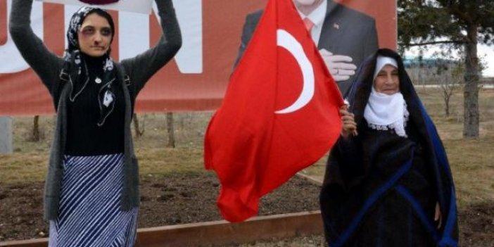 Erdoğan'ı böyle karşıladılar