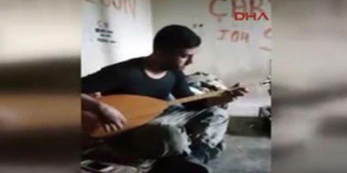 Afrin'de, Mehmetçikten duygulandıran türkü