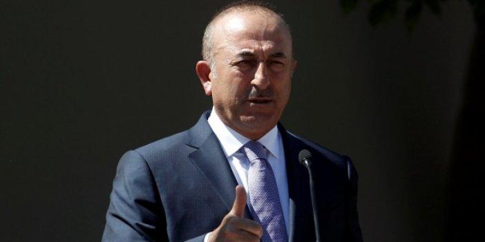 """Çavuşoğlu: """"İsrail hükümetini lanetliyorum"""""""