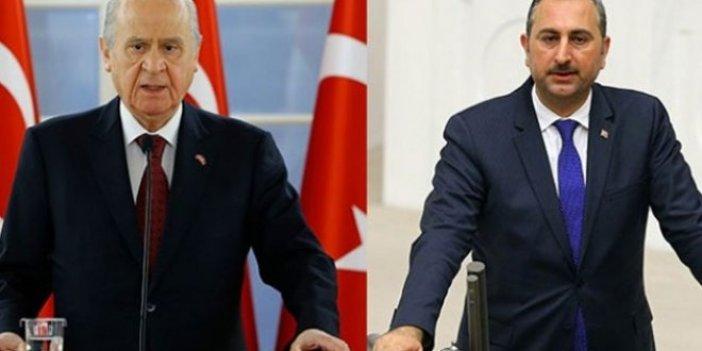 Bahçeli, Adalet Bakanı Gül ile görüştü