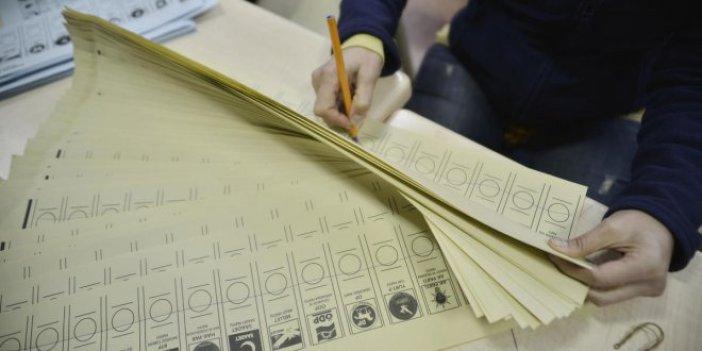 308 milyon oy pusulası basılacak