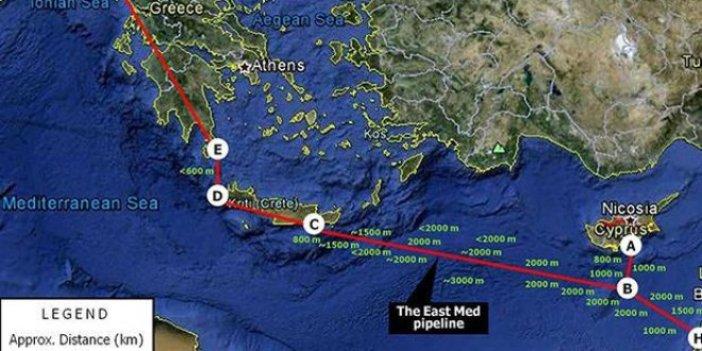 Türkiye'yi by-pass eden haritaya sert tepki!