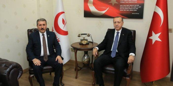 Erdoğan-Destici görüşmesi sona erdi